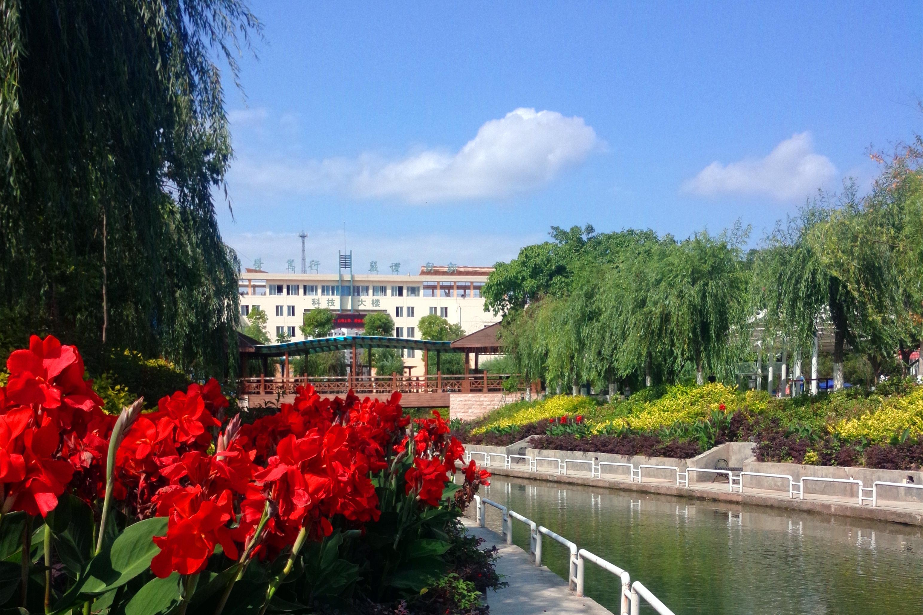 西南科技大学城市学院校园图片