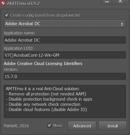 Adobe CC 2018破解补丁 Anticloud V3 + AMTEmu 0.81 + Zii 3.0.4 Win/Mac