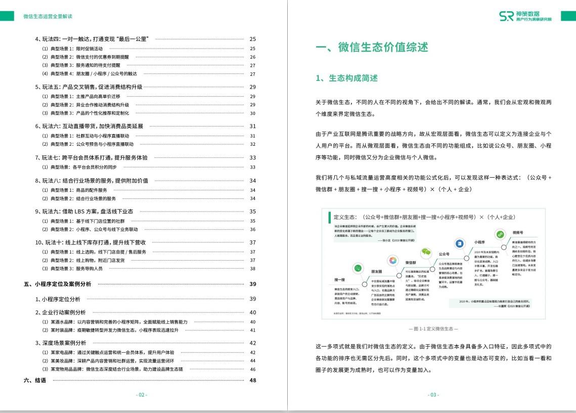 微信生态运营全景解读-神策数据 52页
